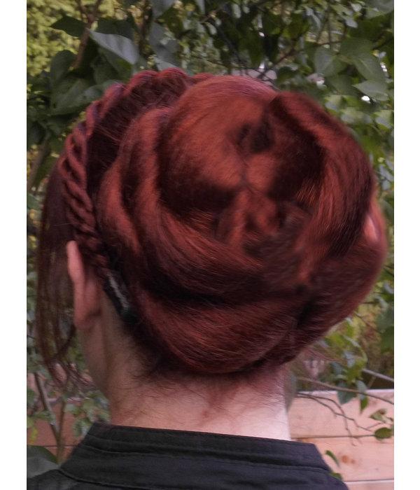 Twist Dutt & Zopf M, gekrepptes Haar