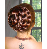 Braided Hair Bun & Braid S extra, crimped hair
