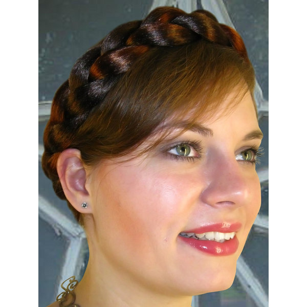 Halo Braid Hair Crown of S extra Braid