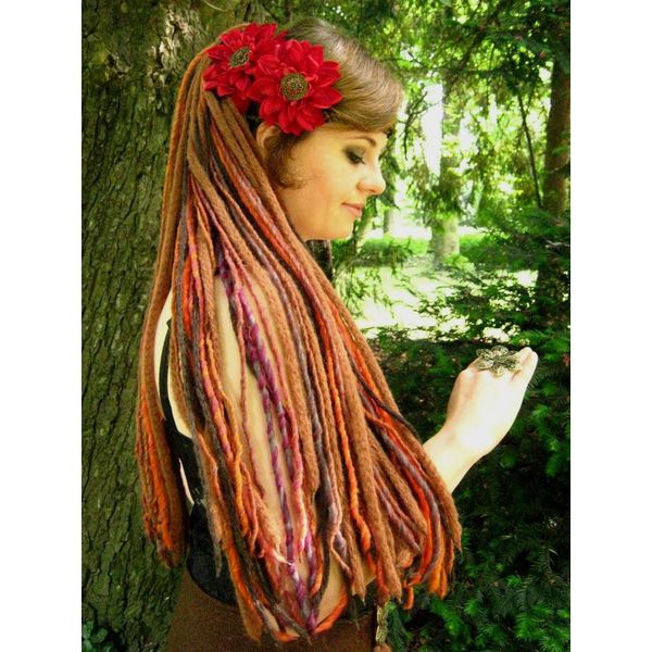 Gipsy Flower Dreads