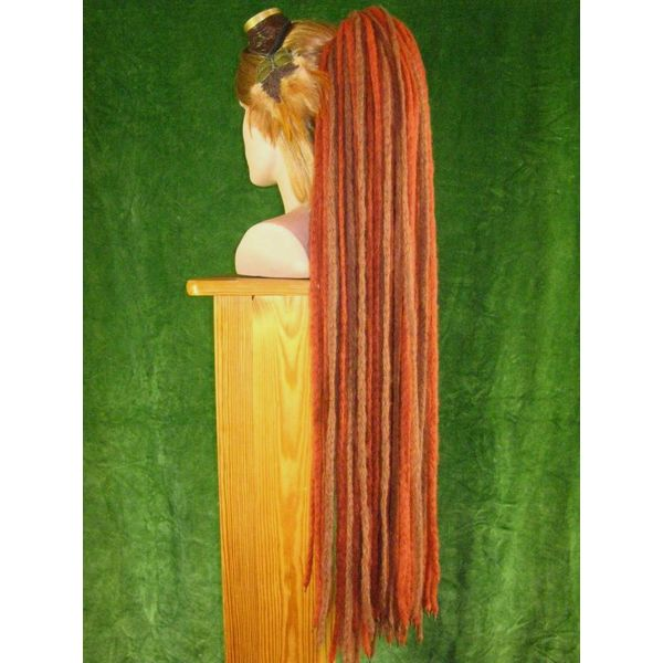 Henna Brown Dreads