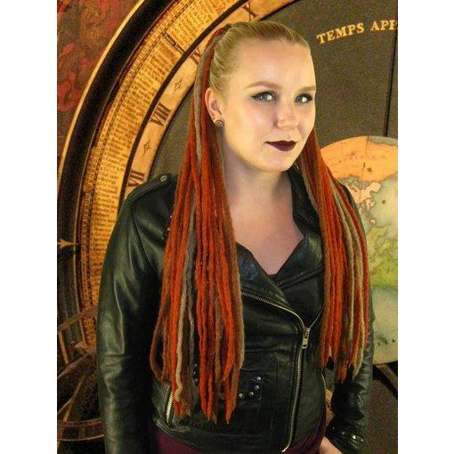 Steampunk Stripes Dreads