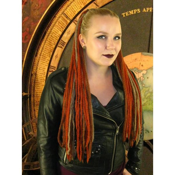 Steampunk Stripes Dreads