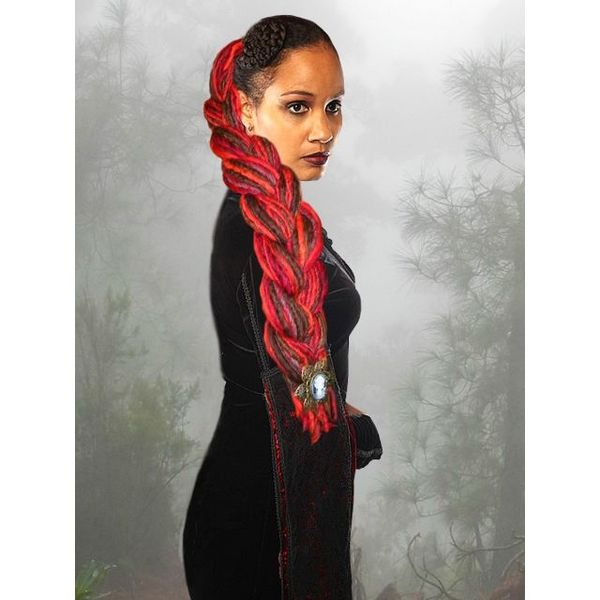 Witch Red Chestnut Dreads