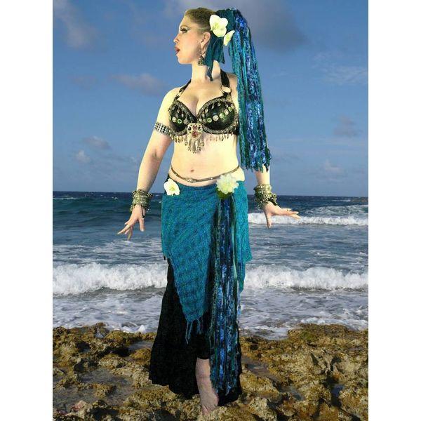 Blue Mermaid belt clip