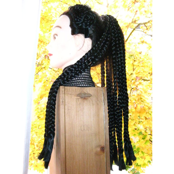 Voodoo Magician braids hair piece