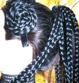 Voodoo Magician braids hair piece