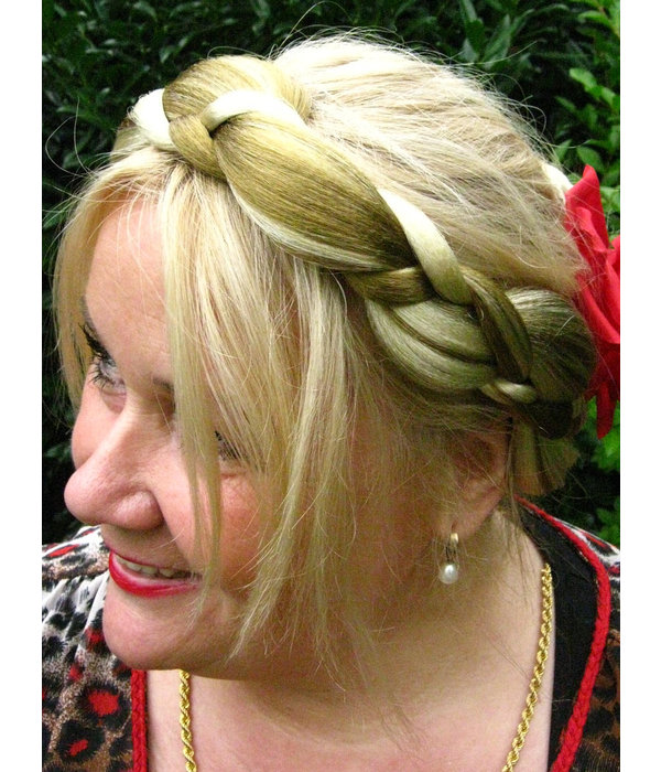 Halo Braid Hair Crown Elf