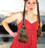 Boho Hair Buns Topknots natural, size M