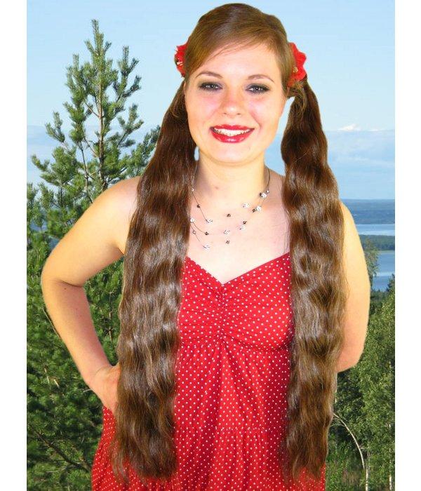 Twist Zopfschnecken, gewelltes Haar, Größe S