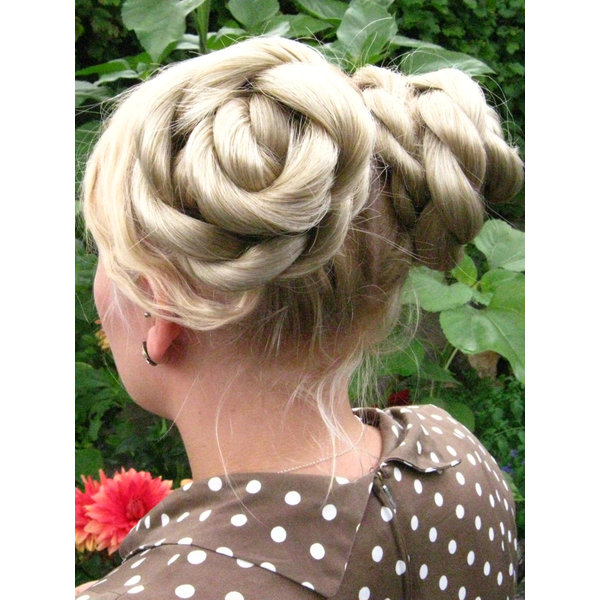 Twist Hair Buns, S