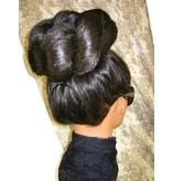 Supersize Afro Twist Hair Bun, voluminous hair