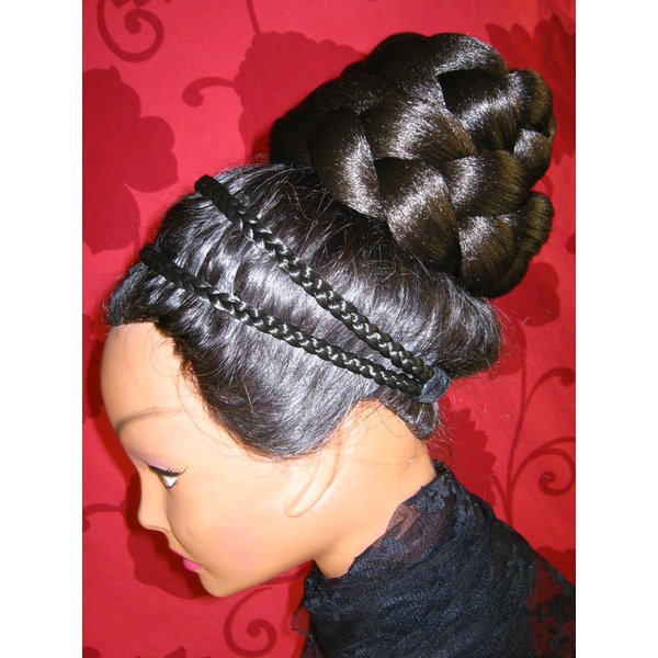 Braid & Braided Bun L extra size