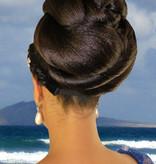 Afro Twist Dutt Haarteil Größe M extra