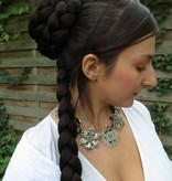 Princess Leia Ceremonial Braided Bun with Braid