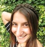 French Braid Headband thin, flat braid