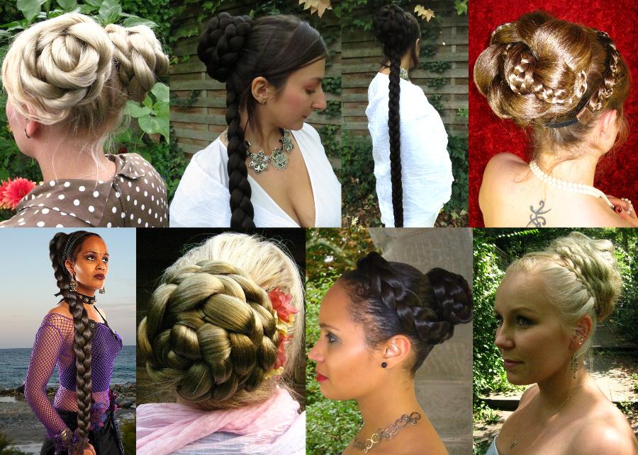 Ein Haarteil - viele Frisuren, die beliebtesten hier in einer Auswahl!