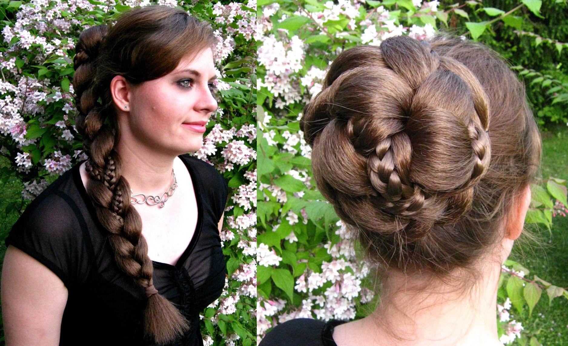 Multi-Styling Hairpieces - Braid & Bun