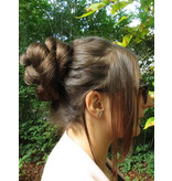 Twist Zopf Größe S, gekrepptes Haar