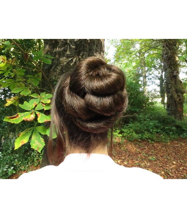 Twist Chignon Größe S, gekrepptes Haar