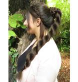Twist Chignon S size, crimped hair
