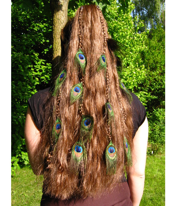 Peacock Extensions, 7, 9 or 11 Feathers