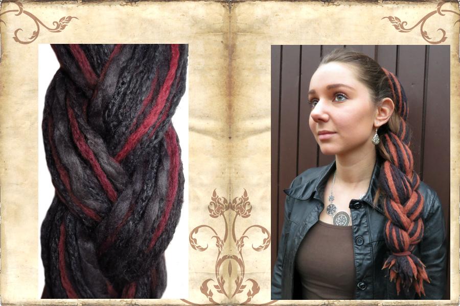Gothic & Steampunk Dreads-Zöpfe
