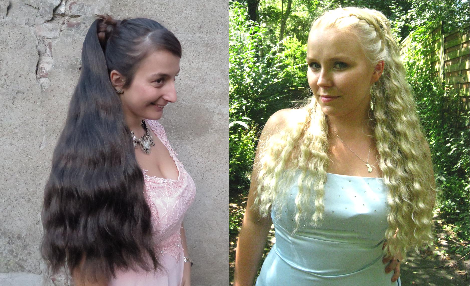 Natürliche Haarteile in Deiner Haarfarbe!