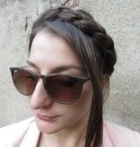 Messy French Braid Headband, chunky & wide