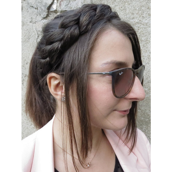 Messy French Braid Headband, medium
