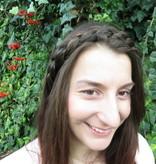 Messy French Braid Headband, slim