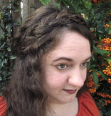 Rapunzel Braid Headband messy look