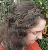 Rapunzel Zopf Haarband messy Look