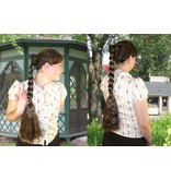 Braid L size & wavy hair falls