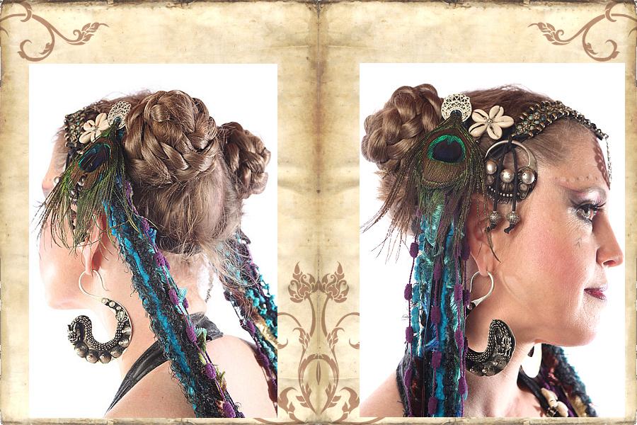 Haarschnecken, der Styling-Klassiker für ATS bis Tribal Fusion