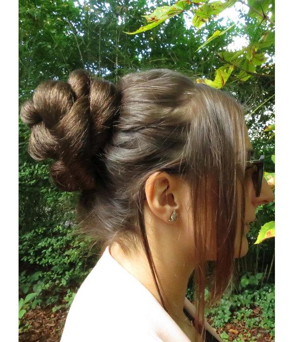 Haarteil Set Twist Zopf/ Dutt & Haarband Brynhildr