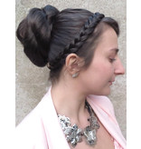 Rose Bun L size, Multi-Hairstyle Hairpiece