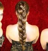 XL Fantasy Zopf & Rapunzel Haarband