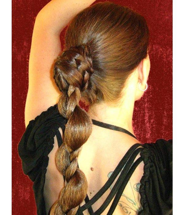 Haarteil Set Zopf & Haarband Elfe