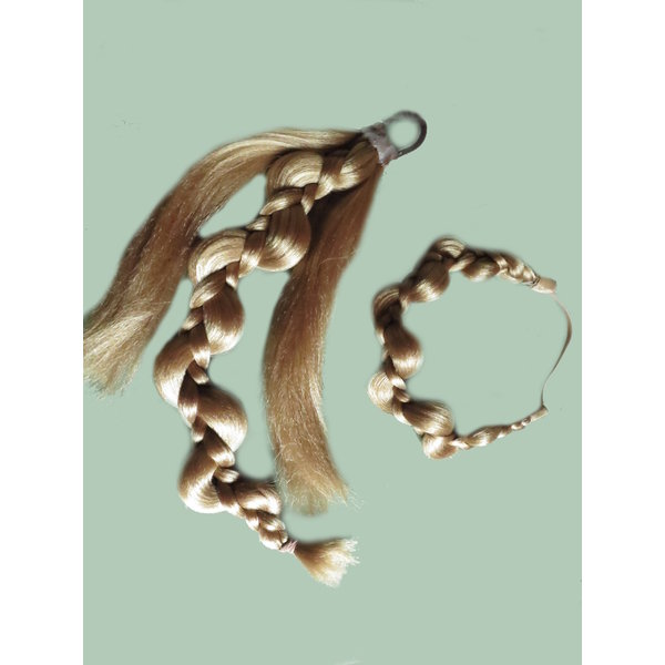 Elf Braid & Headband Hair Piece Set