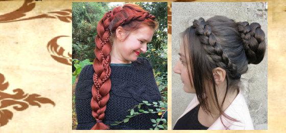 Custom Hair Pieces, Braids, Headbands ...