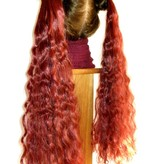 2 Hair Falls Size S, natural curls