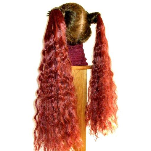 2 Hair Falls S curls