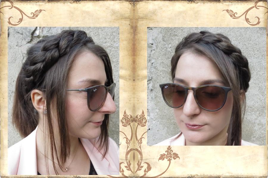 Messy Zopfhaarband geflochten Undone Look Haarband
