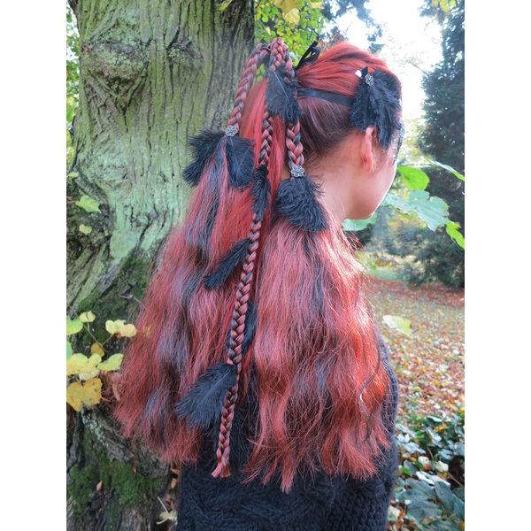 Feather Headpiece Hair Falls Magician, M