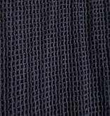 Off black net hip & hair scarf