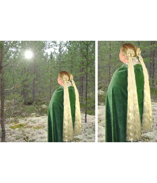 2 Haarteile, Größe S Plus extra, Wellen
