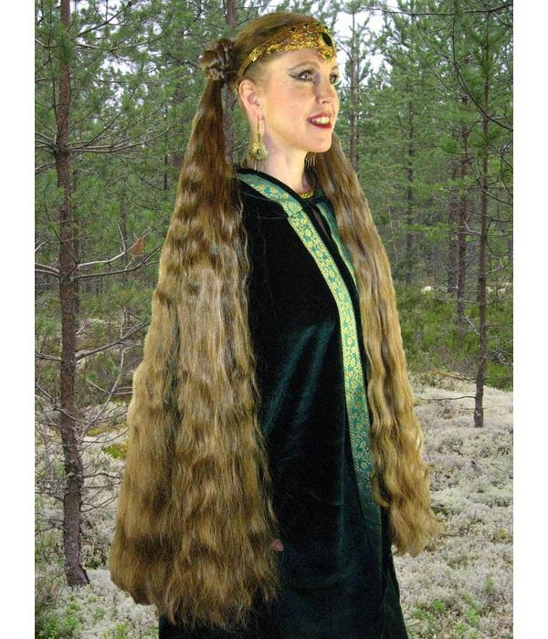 2 Haarteile, Größe M extra, Wellen
