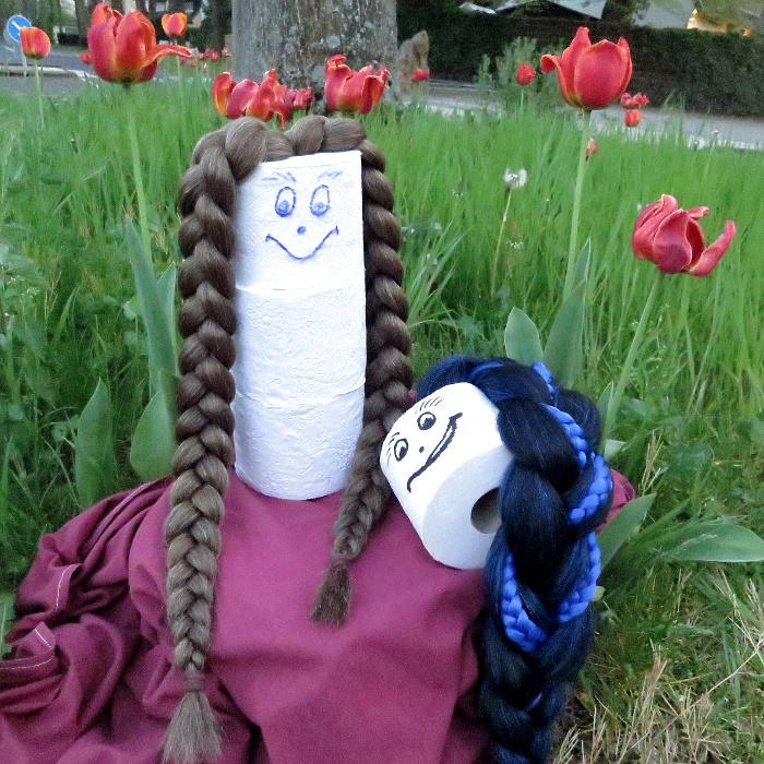 So kann man Geld für Haarblumen sparen - Stylingtipp à la Cloey