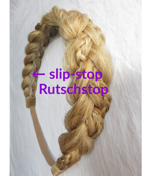 Rapunzel Zopf Haarband medium, messy Look